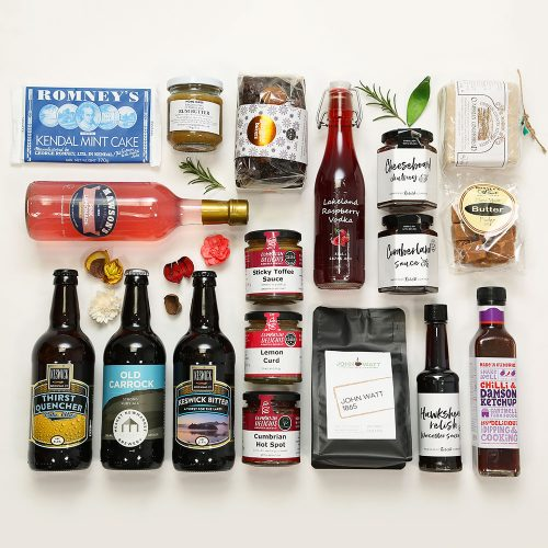 Tastes of Cumbria hamper